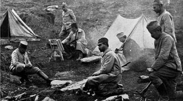 Srpski vojnici na Kajmakčalanu