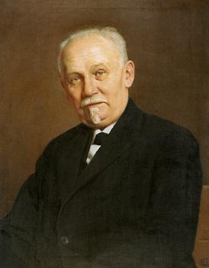 Portret Slobodana Jovanovića koji je naslikao Uroš Predić 1931.