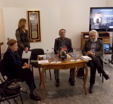 O knjizi novinara, književnika i publiciste Momčila Đorgovića Tragedija jednog naroda govorili su dr Latinka Perović, mr Snežana Cvetković,  Petar Arbutina i autor