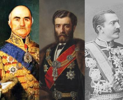 Obrenovići gradili, Rusi ometali: Kneževi Miloš, Mihailo, Milan