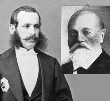 Jovan Ristić i Petar Velimirović