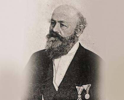 Pera Velimirović, ministar građevina za čije je vreme oduzeta železnica od francuske uprave u državne ruke 21. maja 1889.