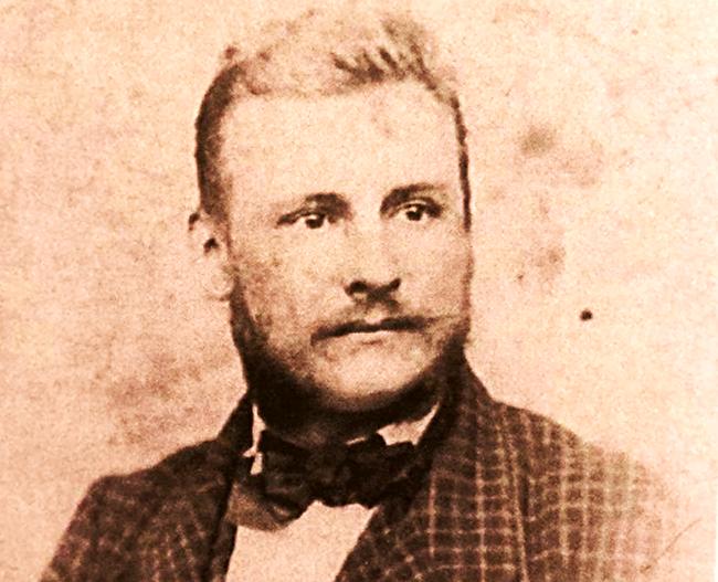 Inženjer Franc Vinter oko 1860.  - Iz dokumentacije Relje Kostića i knjige Jelene Borović Dimić