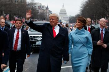 Predsednički par: Melanija i Donald na dan inauguracije