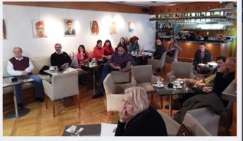 Klub – knjižara – galerija Glasnik, 11.10. 2016. - predstavljanje knjige Tragedija jednog naroda Momčila Đorgovića, čije prvo izdanje je rasprodato za kratko vreme.